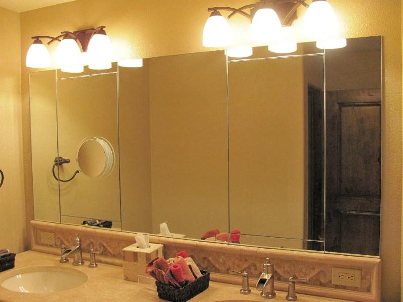 Wall Vanity Mirror phoenix, arizona custom mirror installations, wall mirrors, and more